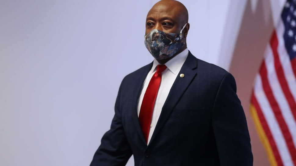 Sen. Tim Scott Blasts Leftists For 'Literally Attacking The Color Of My Skin' After Speech