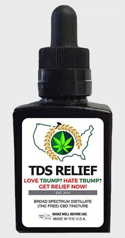 TDS Relief CBD Oil Product
